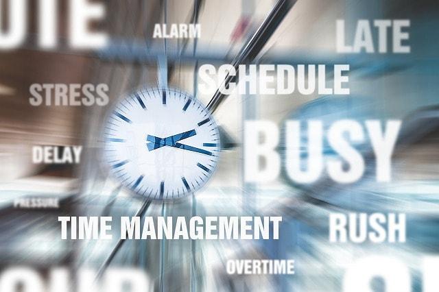 多忙による仕事のストレス